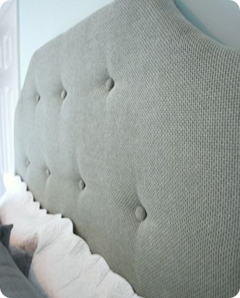 step by step tufted headboard