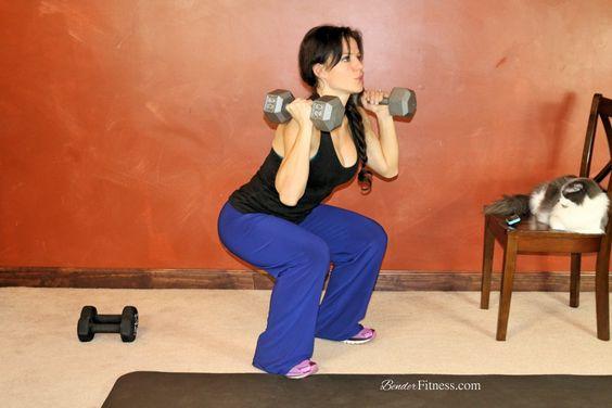 10 Minute Workout to Sculpt & Shape Your Thighs & Butt