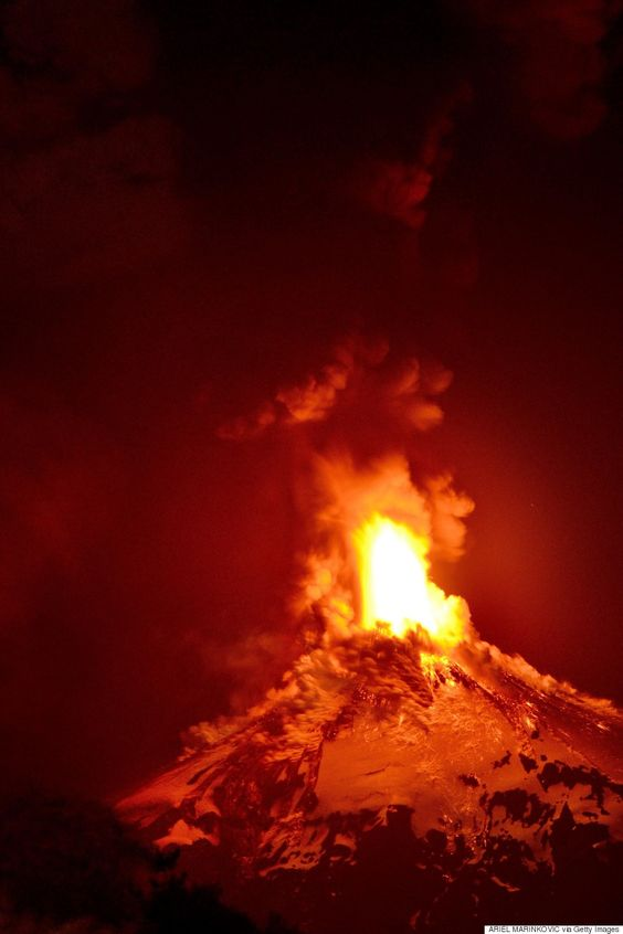 villarrica volcano