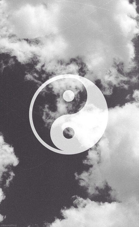 tumblr yin yang wallpaper trippy pinterest tumblr