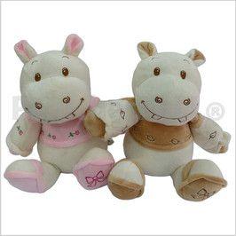 Código: TSP3282 Hipopótamo peluche bordado