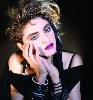 Madonna by George Holz (1984)