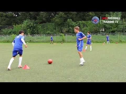 Fussballtraining Passen Passtechnik Teil 2 Youtube