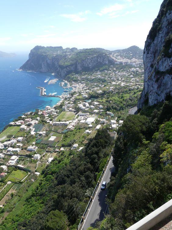 île de Capri - Campanie
