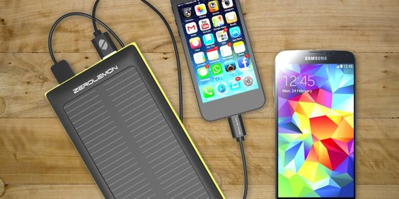 Charge Your Phone or Tablet on the Go for Just $26