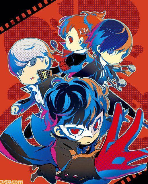 Persona Q2 New Cinema Labyrinth The Protagonists Famitsu 1564 Cover Persona 5 Persona Persona Crossover