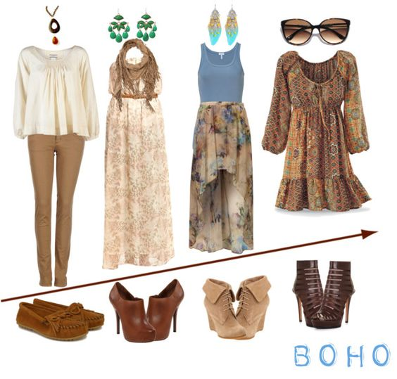 """Boho"" by fashion-jewel ❤ liked on Polyvore"