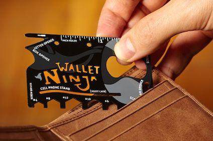 Wallet Ninja 16-in-1 Multitool just $9.99 on Groupon! (Reg Price $40) - TrueCouponing