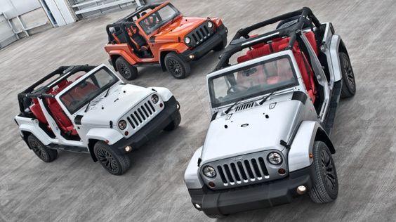 Kahn Design Jeep Wrangler CJ300 Summer Collection