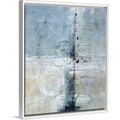 Orren Ellis Eternally Yours Painting On Canvas Size 21 7 H X 17 7 W X 1 75 D Format White Floater Frame Painting Your Paintings Canvas