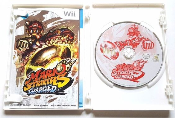 Nintendo Wii Complete Game MARIO STRIKERS CHARGED Super Fun for Everyone  Soccer