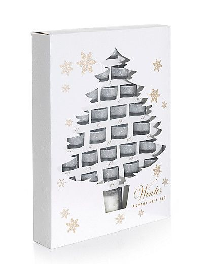 Marks & Spencer candles advent calendar £35