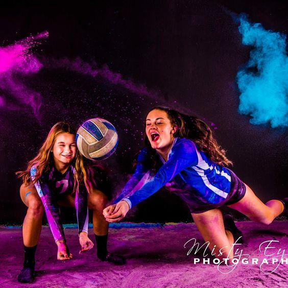 Powder Portrait: Volleyball