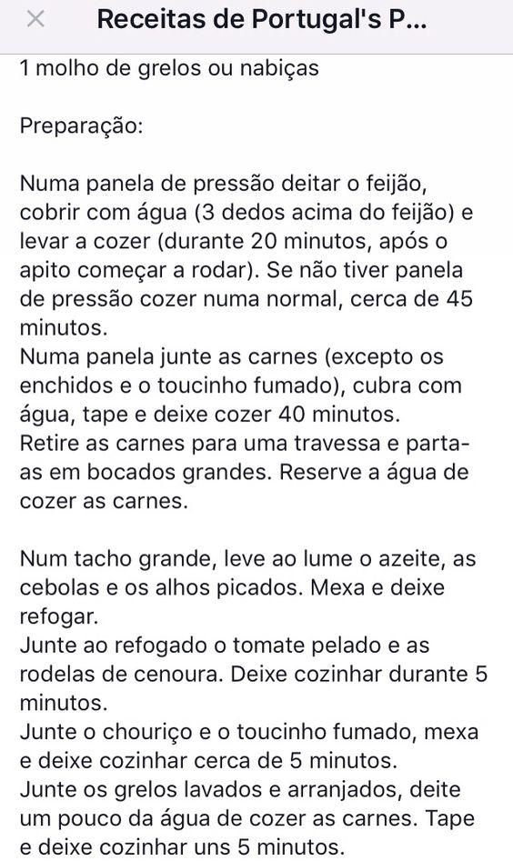 Feijoada à portuguesa parte 3