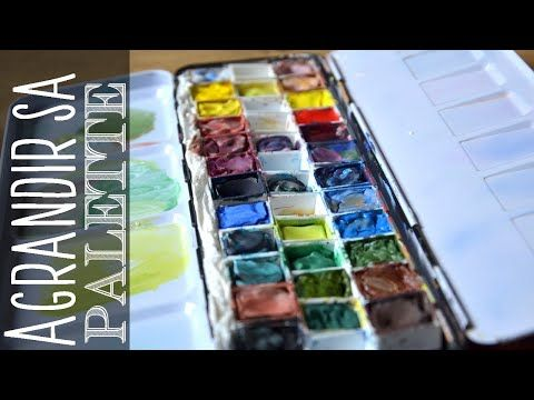 Cindy Barillet Youtube Palette Aquarelle