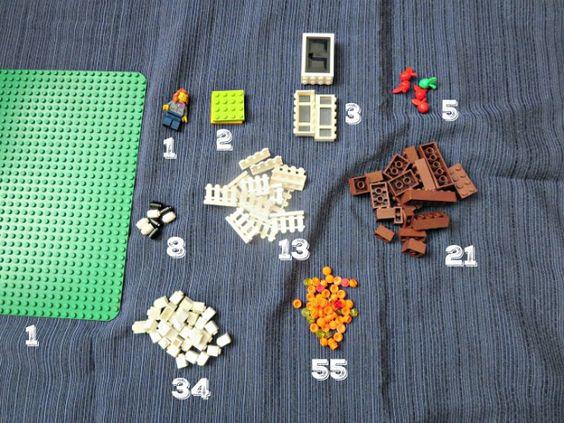 Fibonacci Fall LEGO Garden - Planet Smarty Pants