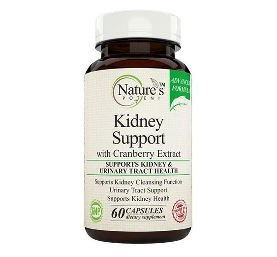 Nature's Potent™- Kidney Support & Cleanse, Supplement with Cranberry #DetoxDietWeightloss