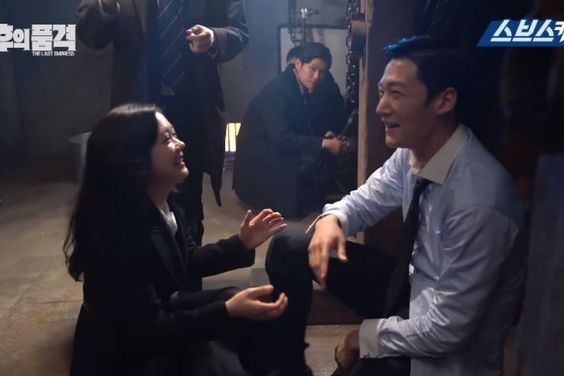 """Watch: """"The Last Empress"""" Cast Laugh Their Way Through Serious Scenes In Making Video"""