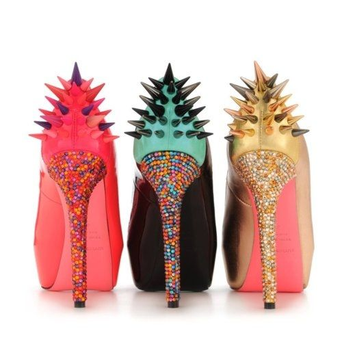 Ruthie Davis Heels  these look really cool, more in the shoe fantasy category.