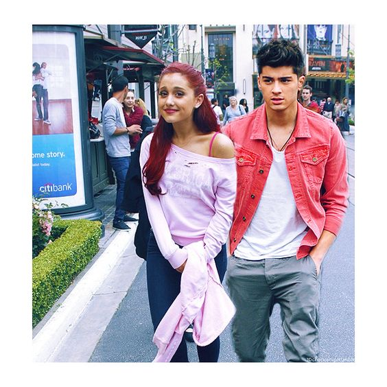 Zayn Malik And Ariana Grande Crack Ship - Zayn Mali...