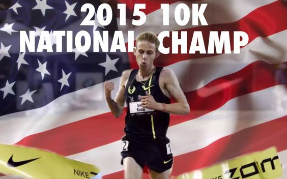 Galen Rupp 2015 10k national champion