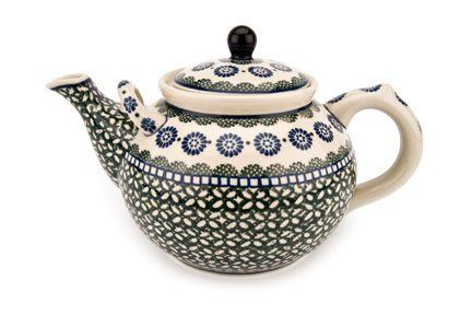 Polish Pottery Maia Large Teapot >>> Insider's special offer that you can't miss : Bakeware