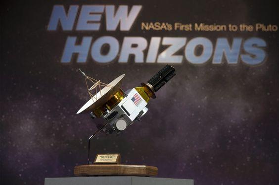 Makieta sondy New Horizons