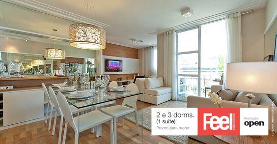 FEEL CIDADE UNIVERSITÁRIA | PRONTO | RESIDENCIAL RUA MIGUEL SEVÍLIO, BUTANTÃ, SÃO PAULO - SP São apartamentos com 2 e 3 dormitórios e 1 suíte próximos à Cidade Universitária.