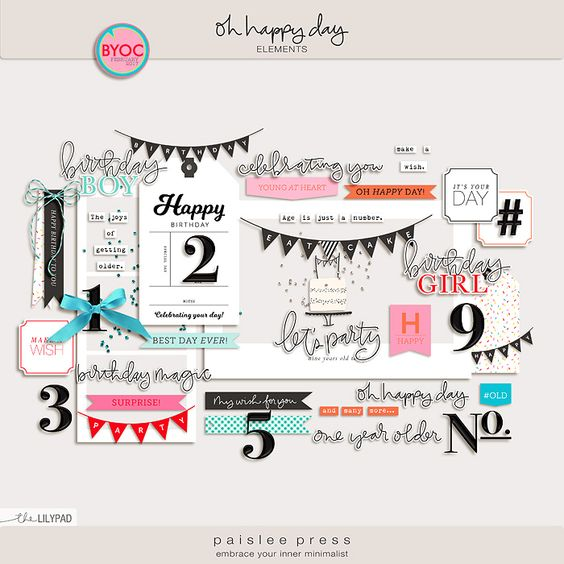 Oh Happy Day by Paislee Press