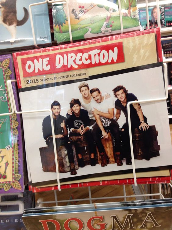 ThEY HAVE TWO 2015 CALENDARS