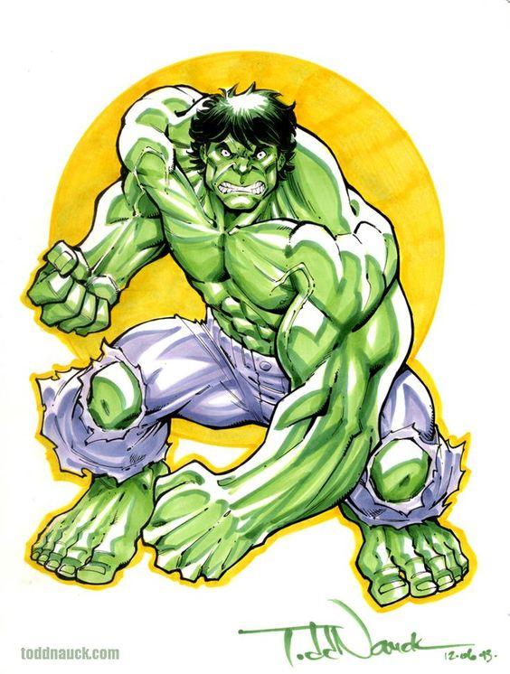 #Hulk #Fan #Art. (Hulk) By: Todd Nauck. (THE * 5 * STÅR * ÅWARD * OF: * AW YEAH, IT'S MAJOR ÅWESOMENESS!!!™) ÅÅÅ+