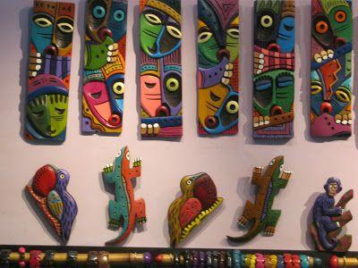 Poderosos Colores: Artesanías Ecuatorianas