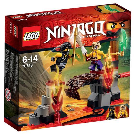les chutes de lave lego ninjago 70753