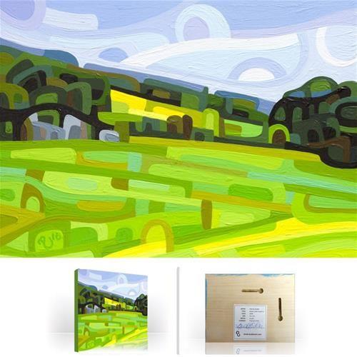 "Daily+Paintworks+-+""Landscape+Study+#84""+-+Original+Fine+Art+for+Sale+-+©+Mandy+Budan"