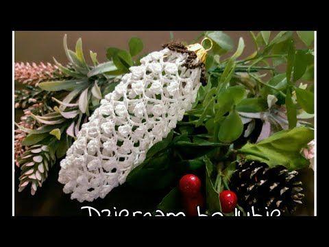 Szyszka Na Szydelku Bombka Pine Youtube Christmas Crochet Christmas Crochet Patterns Crochet Christmas Ornaments