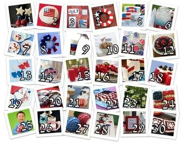 The 30 Best DIY Pinterest Ideas for Fourth of July (or other Patriotic Holidays):