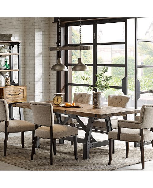 Champagne Dining Table Macy S 699 On Sale Dining Table