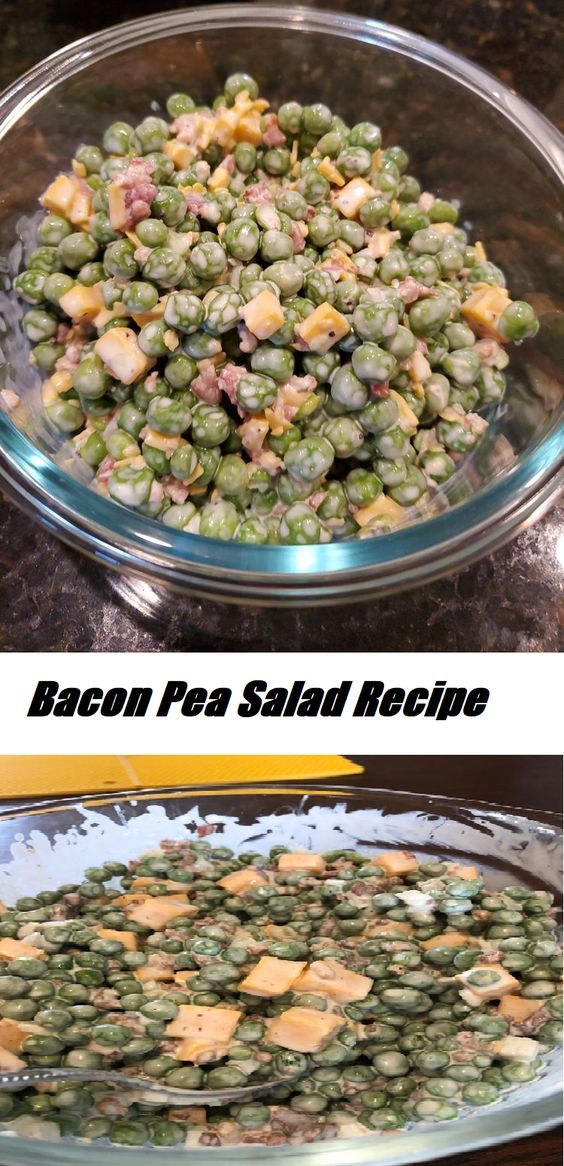 #Bacon #Pea #Salad #Recipe