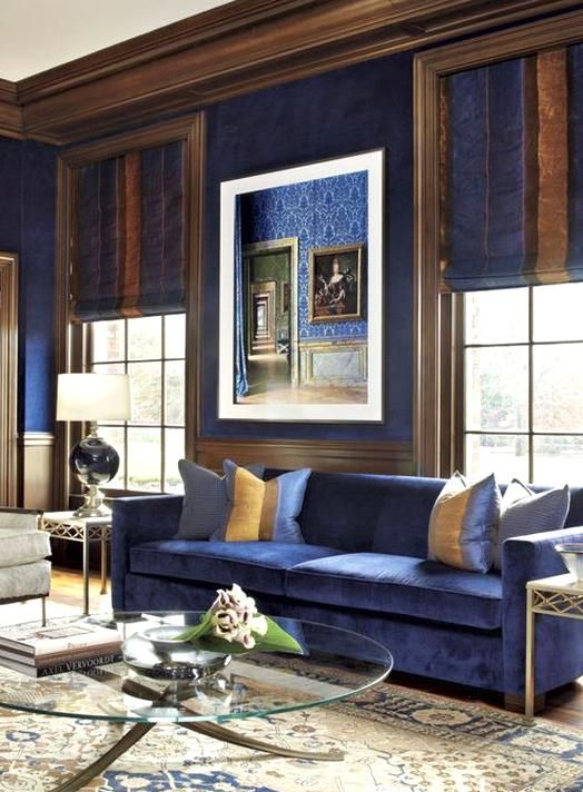 Blue And Brown Living Room Blue Sofas Living Room Blue Living Room Decor Brown Living Room