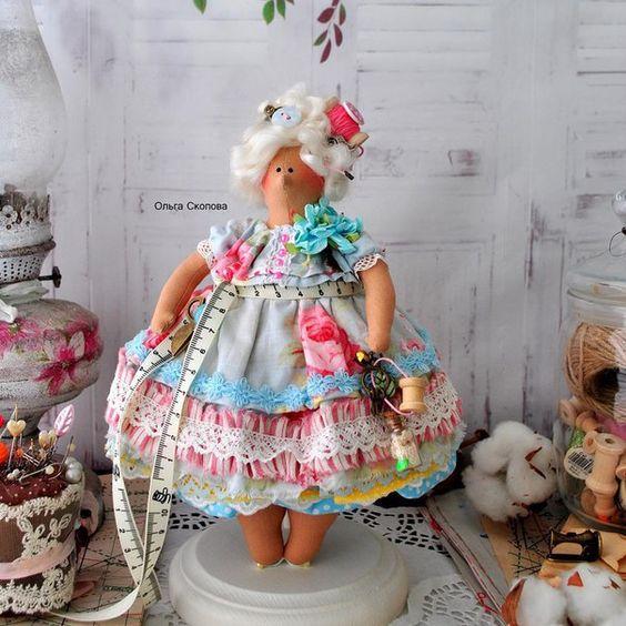 Интерьерные куклы Алёны Бабак. Куклы Тильда.: