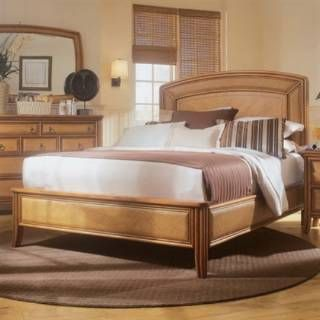 Check out the American Drew 931-336R Antigua Low Profile Bed 6/6 in Toasted Almond priced at $1,420.00 at Homeclick.com.