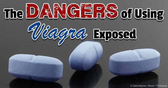 The dangers of using Viagra exposed
