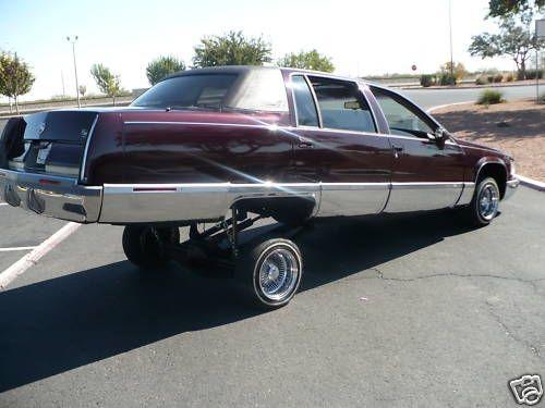 Cadillacfleetwoodbroughamcustomlowridercadillacstyle1993