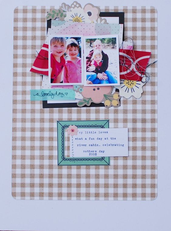 My little Loves, by Denise Morrison @cocoadaisykits March Kit on Sale now.