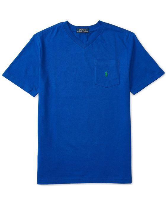 Ralph Lauren Jersey Pocket T-Shirt, Big Boys (8-20)