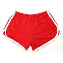 Recreation Retro Bag Hip Spandex Shorts Hot Pants Beach Pants