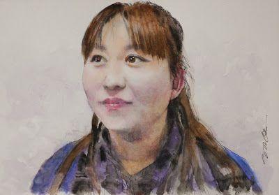 Acoustic Drawings The Shinji Ogata Gallery: Mis Yukiko Yamada from FM Yatsushiro エフエムやつしろの山田 由...
