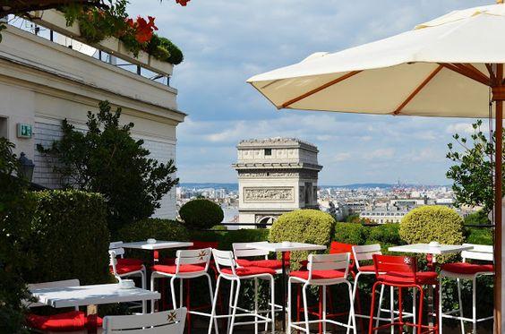 Parisian touch: Les plus belles terrasses estivales de Paris