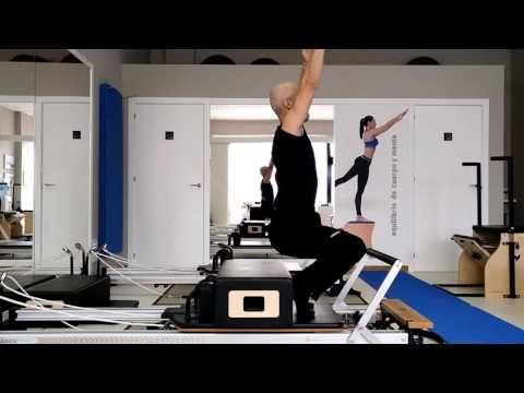 Pilates Reformer Push Up Fondos Studio Pilates Lugo Youtube Pilates Reformer Pilates Pilates Reformer Exercises