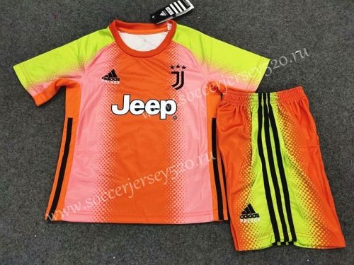 special edition 2019 2020 juventus goalkeeper orange kids youth soccer uniform soccer uniforms juventus soccer soccer shirts special edition 2019 2020 juventus